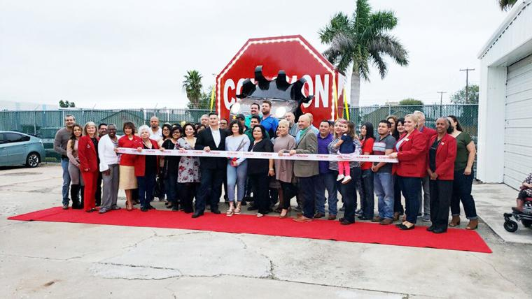 The Harlingen Chamber of Commerce held a ribbon cutting ceremony for The Collision Stop located on 202 South Eye Street on Saturday.